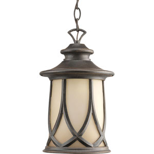 Resort Aged Copper One-Light Outdoor Pendant
