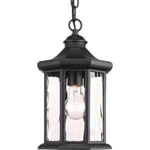 P6529-31 Edition Black 7-Inch One-Light Outdoor Pendant