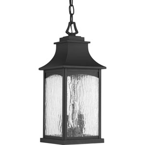 P6532-31 Maison Black Two-Light Outdoor Pendant