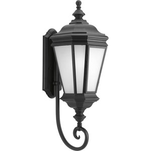 Crawford Black 28.87-Inch One-Light Outdoor Wall Lantern