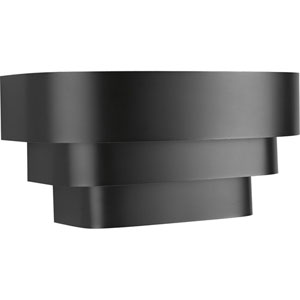 P7103-31:  Black One-Light Sconce