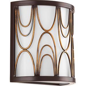 P7149-20 Cirrine Antique Bronze One-Light Vanity