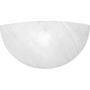 P7151-51 Faux Alabaster 17-Inch Wall Sconce