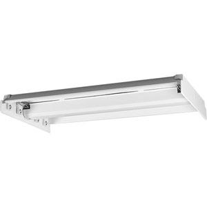 P7215-30EB White 49x16-Inch Four-Light Fluorescent Modular Flush Mount