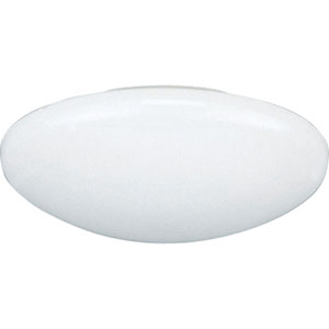P8025-60:  6-Inch 120V White Dome Shower Incandescent Trim