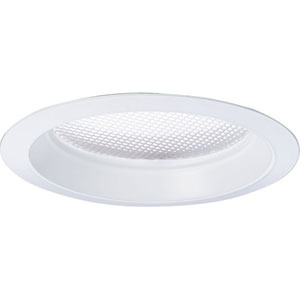 P8035-68FB White Fluorescent Recessed Prismatic Trim