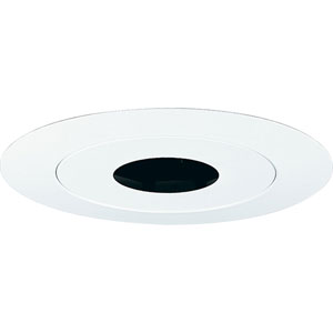 P8065-28 White Pinhole Recessed Trim
