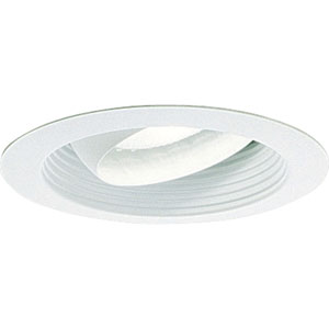 P8079-28 White Recessed Eyeball Trim