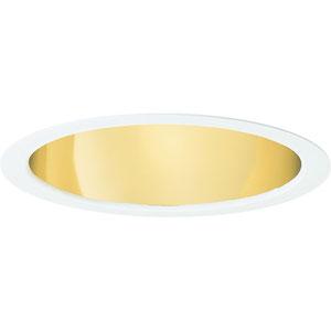P8115-22A Gold Alzak Fluorescent Pro-Optic Fluorescent Recessed Housing Trim