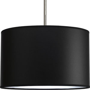 Markor and Choloe Black Parchment 16 x 10-Inch Modular 16-Inch Drum Shade