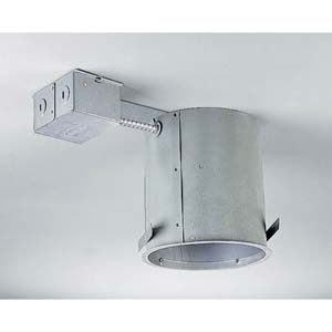 P187-TG:  6-Inch 120V Insulated Contact Remodel Incandescent Housing