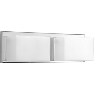 Ace Polished Chrome LED Two-Light Bath Sconce
