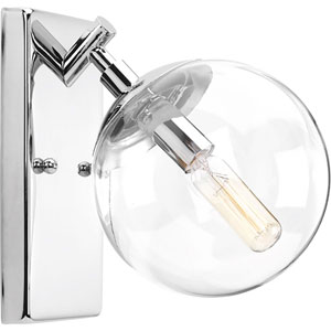 Mod Polished Chrome One-Light Bath Sconce
