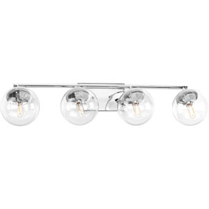 Mod Polished Chrome Four-Light Bath Sconce