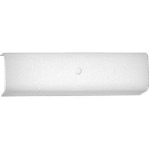 Channel Glass White Two-Light Bath Sconce