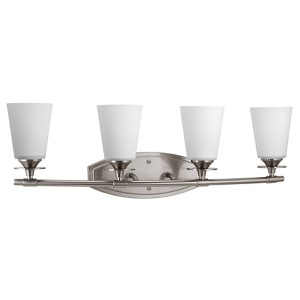 Cantata Brushed Nickel Four-Light Vanity Fixture
