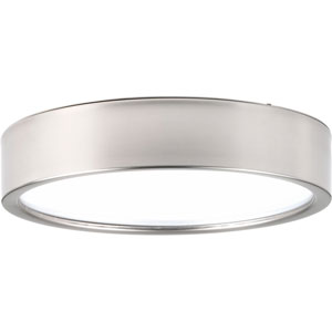 Portal Brushed Nickel LED 13-Inch One-Light Flush Mount