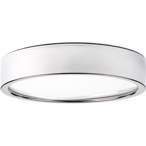 Portal Polished Chrome LED 13-Inch One-Light Flush Mount