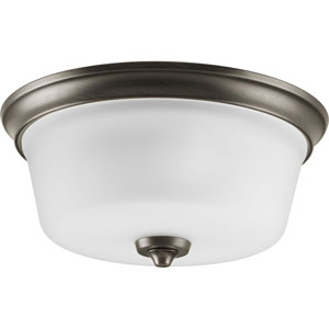 Lahara Venetian Bronze Two-Light Flush Mount