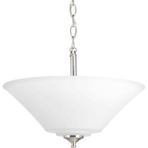 Joy Brushed Nickel Three-Light Pendant