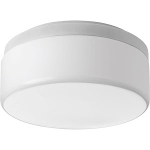 Maier White LED One-Light Flush Mount