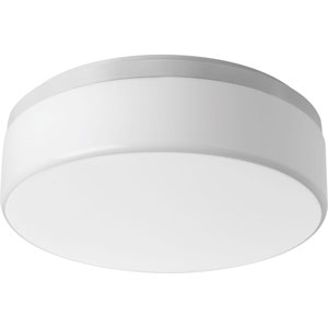 Maier White LED Two-Light Flush Mount