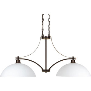 Legend Antique Bronze Two-Light Pendant
