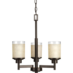 Alexa Antique Bronze Three-Light Chandelier