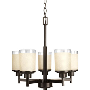 Alexa Antique Bronze Five-Light Chandelier