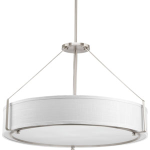 Ratio Brushed Nickel Six-Light Pendant
