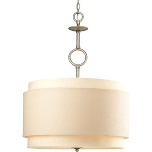 Ashbury Silver Ridge Three-Light Pendant