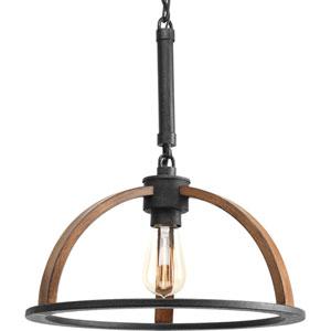 Trestle Gilded Iron One-Light Pendant