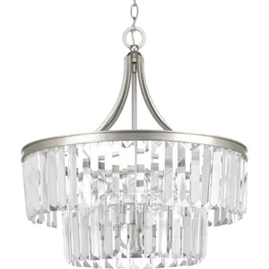 Glimmer Silver Ridge Five-Light Pendant