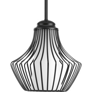 Finn Black 10-Inch One-Light Pendant