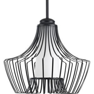 Finn Black 15-Inch One-Light Pendant