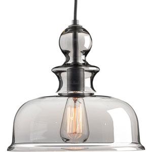 Staunton Graphite 12-Inch One-Light Pendant