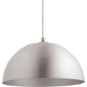 Dome Satin Aluminum LED 10-Inch One-Light Pendant