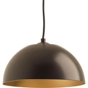 Dome Antique Bronze LED 10-Inch One-Light Pendant