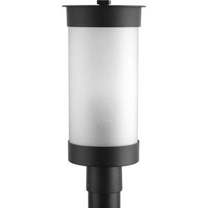 Hawthorne Black One-Light Outdoor Post Light