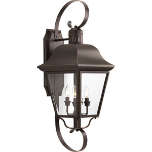 Andover Antique Bronze Four-Light Outdoor Wall Sconce