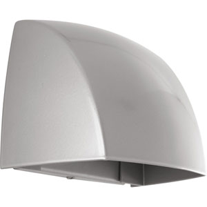 Cornice Metallic Gray LED Five-Inch One-Light Outdoor Wall Sconce