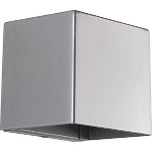 Cornice Metallic Gray LED Six-Inch One-Light Outdoor Wall Sconce