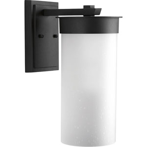 Hawthorne Black Eight-Inch One-Light Outdoor Wall Sconce