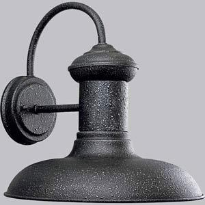 P5723-71:  Brookside Gilded Iron One-Light Outdoor Wall Lantern
