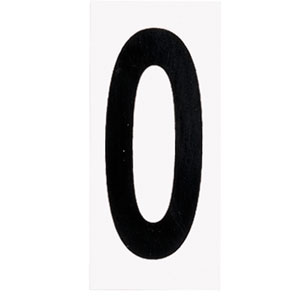 Address Light White Address Number Zero