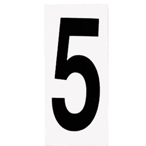 Address Light White Address Number Five