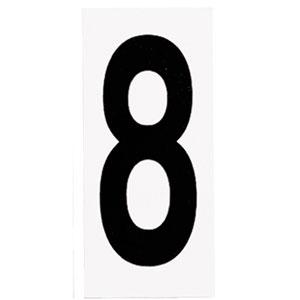 Address Light White Address Number Eight