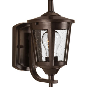 East Haven Antique Bronze Six-Inch One-Light Outdoor Wall Sconce