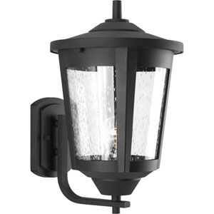 East Haven Black 10-Inch One-Light Outdoor Wall Sconce