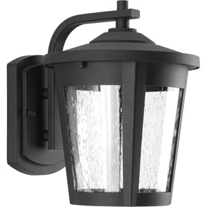 East Haven Black LED Eight-Inch One-Light Outdoor Wall Sconce